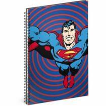 Blok - Superman/Circles, A5 linkovaný,spirálový