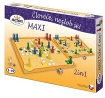 Člověče, nezlob se maxi 2v1 - společenská hra v krabici