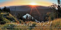 Kalendář 2021 - Šumava stolní dvoutýdenní