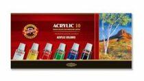 Koh-i-noor souprava akrylovych barev 10 x 16 ml