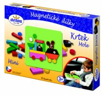 Krtek - Magnetické dílky mini 27ks v krabici
