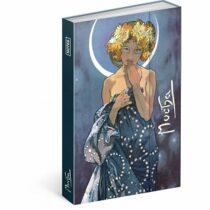 Notes Alfons Mucha – Luna, linkovaný