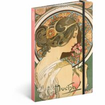 Notes Alfons Mucha – Petrklíč, linkovaný