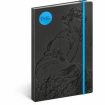 Notes - Alfons Mucha/Topas, linkovaný, 13 x 21 cm