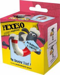 Ovečka Shaun - Pexeso na prázdninách s výukou angličtiny, 36 kartiček v krabičce