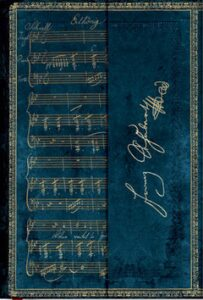 Zápisník Paperblanks - Schubert Erlkönig - Mini linkovaný