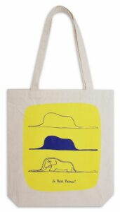 Plátěná taška Malý princ (Le Petit Prince) – Hroznýš