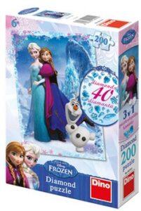 Puzzle Frozen diamond