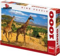 Puzzle Dvě žirafy