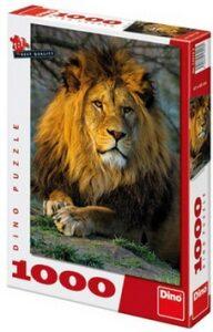 Puzzle Zamyšlený lev