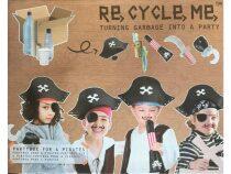 Re-cycle-me set - Party box piráti-pro kluky
