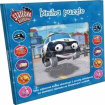 Statečná autíčka - Kniha puzzle