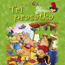 Tři prasátka - puzzle