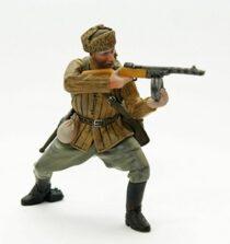 Voják Rudé armády, Stalingrad, zima 1943