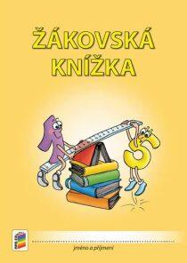 Žákovská knížka pro 3. až 9. ročník - členění stran dle předmětů (oranžová)