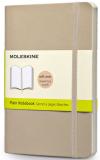 Moleskine - zápisník -  čistý, béžový S