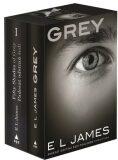 Padesát odstínů šedi + Grey - dárkový box (komplet)
