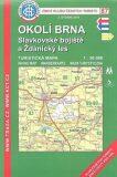 KČT 87 Okolí Brna, Slavkovské bojiště a Ždánský les 1:50 000