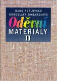 Oděvní materiály II pro 2. a 3. ročník SOU a SOŠ