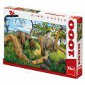 Puzzle Sloni z Botswany