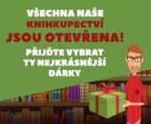 Těšíme se na vás v našich knihkupectvích!