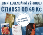 Zimní legendární výprodej | Knížky od 49 Kč