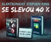E-knihy Stephena Kinga v akci! Ušetřete 40 %