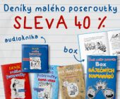 Deníky malého poseroutky | SLEVA 40 %