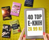 40 NEJČTENĚJŠÍCH E-KNIH ZA 99 KČ