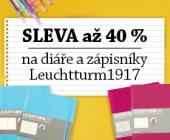 Diáře a zápisníky Leuchtturm1917 | Sleva až 40 %