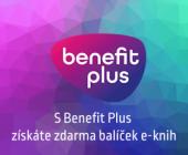 Nakupte s Benefit Plus a získejte jako dárek balíček e-knih!