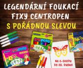 Legendární foukací fixy Centropen | AKČNÍ CENY