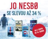 Nejoblíbenější severské krimi   JO NESBØ SE SLEVOU AŽ 34 %