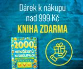Dárek k nákupu nad 999 Kč | 2000 emotikonů na samolepkách pro každý den s úsměvem