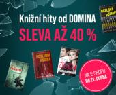 Prověřeno čtenáři | KNIŽNÍ HITY OD DOMINA SE SLEVOU AŽ 40 %