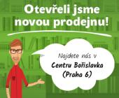 Otevřeli jsme pro vás novou prodejnu kousek od stanice metra Bořislavka