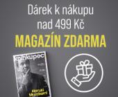 Dárek k nákupu nad 499 Kč | Magazín Knihkupec