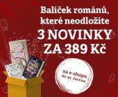 Balíček románů, které neodložíte | 3 novinky jen za 389 Kč