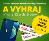 VELKÁ LETNÍ SOUTĚŽ | Nakup s Klubem a vyhraj iPhone 12