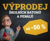 Výprodej tašek, batohů i penálů pro vaše školáky | Sleva až 50 %