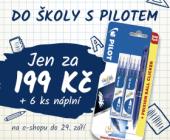 Do školy s Pilotem |Pilot FriXion za 199 Kč