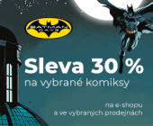Batman Days | Sleva 30 % na vybrané komiksy