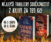 Nejlepší thrillery současnosti? | Balíček za 199 Kč!