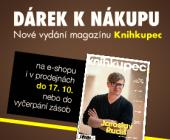 Dárek k nákupu | Nové vydání magazínu knihkupec od 399 Kč