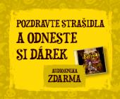 HALLOWEEN v OC Letňany | Dárek k nákupu v prodejně Knihy Dobrovský