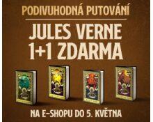 Akce na knihy Julese Vernea   PODIVUHODNÉ PUTOVÁNÍ 1+1 ZDARMA