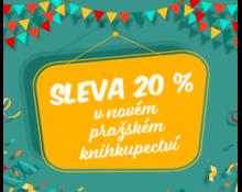 Oslavte s námi nové pražské knihkupectví   SLEVA 20 % NA BOŘISLAVCE