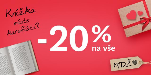 Sleva 20 % na celý nákup ke dni žen