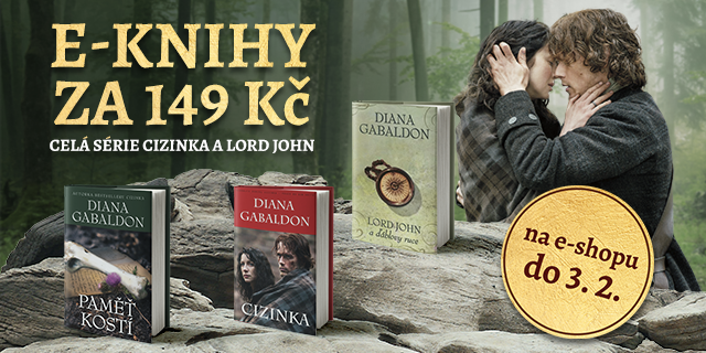 E-knihy Diany Gabaldon – Cizinka a Lord John za 149 Kč