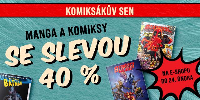 Komiksákův sen | MANGA A KOMIKSY SE SLEVOU 40 %
